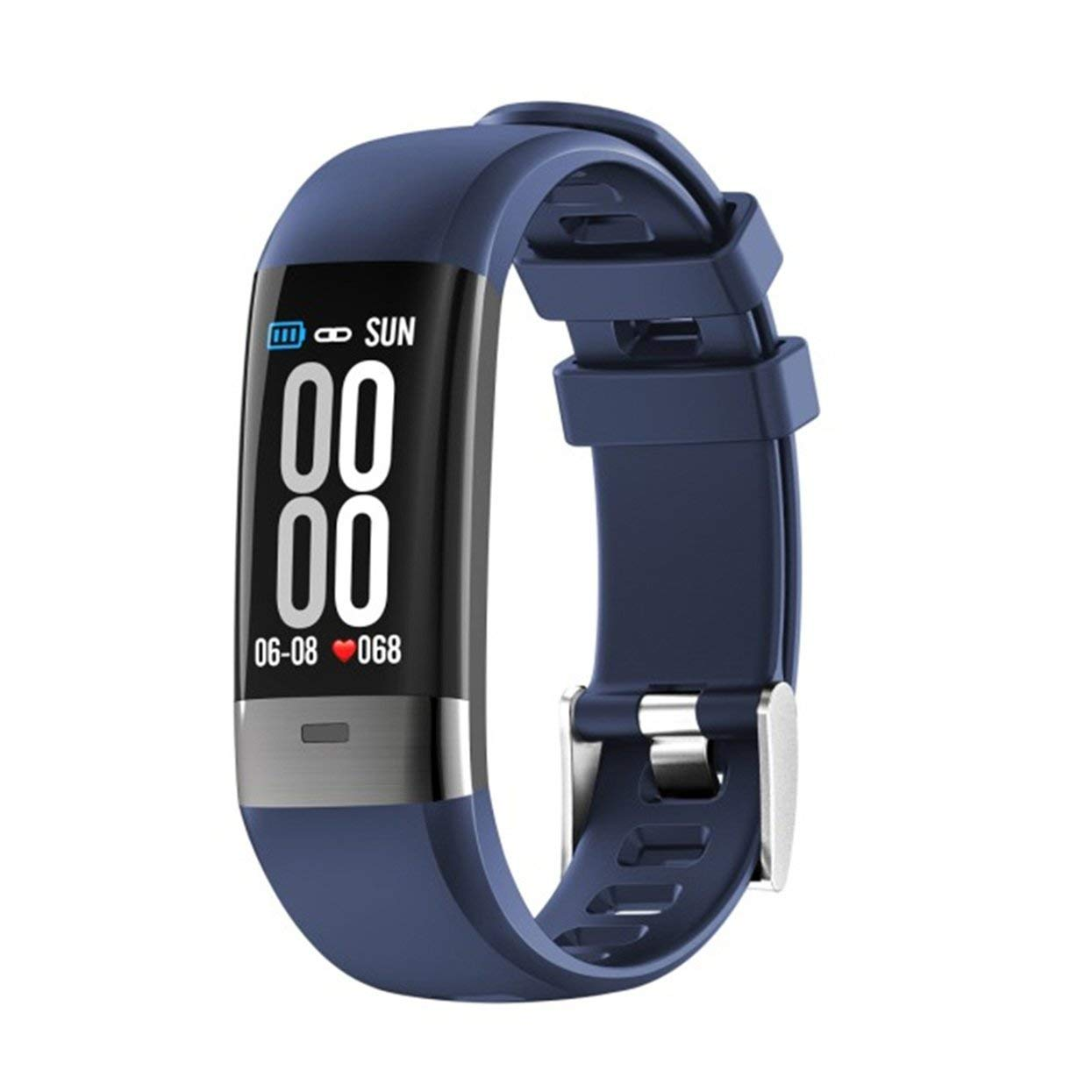 blueee G36 ECG color Screen Durable Smart Bracelet Step Rate Heart Rate ECG Blood Pressure Detection IPS Hd color