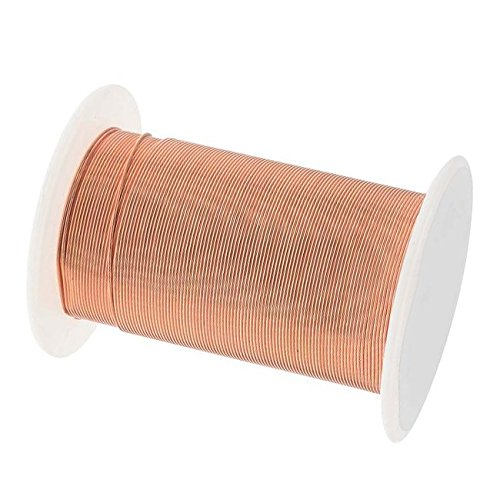 BeadSmith WNT-2434 27.4m Tarnish Resistant Bright Copper Wire, 24 gallon/30 yd (Bead Copper Wire)
