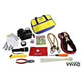 VViViD Deluxe Roadside Assistance & Emergency Safety Tool Bundle