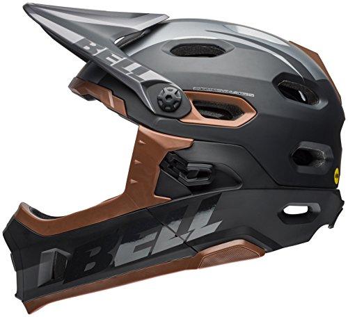Bell Super DH MIPS Bike Helmet - Matte/Gloss Black/Gum Medium ()
