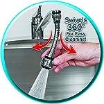 Prolunga-flessibile-in-acciaio-INOX-360-gradi-spruzzatore-rubinetto-da-cucina-dispositivo–argento-Collectsound