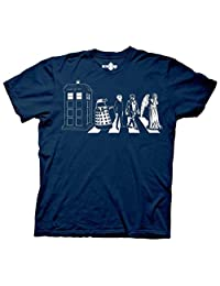 Ripple Junction Doctor Who Detailed Street Crossing Adult T-Shirt