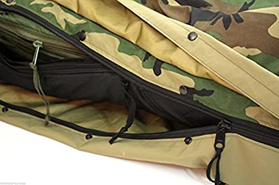 Original Us Military Issue - Ecws Woodland Modular Sleeping Bag System 4 Pieces