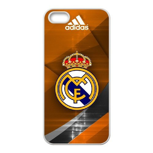 Real Madrid Phone Case And One Free Tempered-Glass Screen Protector For iPhone 5,5S T278155