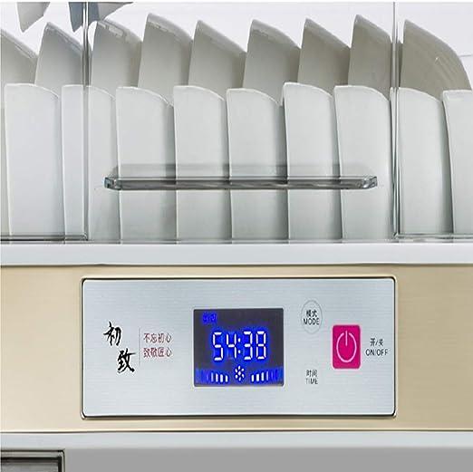 XBSD Máquina desinfectante, Escritorio de pie, gabinete de desinfección de Cocina, Mini Secadora de vajilla doméstica de sobremesa pequeña para Escritorio, Pantalla LED es fácil de Usar: Amazon.es: Hogar