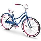 "Huffy 24"" & 26"" Beach Cruiser Bike Men & Women, Fairmont"