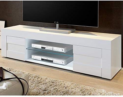 Kasalinea - Mueble para televisor, Color Blanco Lacado Brillante, diseño Newland: Amazon.es: Hogar