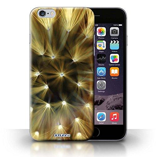 iCHOOSE Print Motif Coque de protection Case / Plastique manchon de telephone Coque pour iPhone 6+/Plus 5.5 / Collection Couleur/Lumière Fleur / Jaune