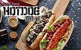 Lurch Germany Flexiform Hotdog Buns 11.8x6.9 Inches