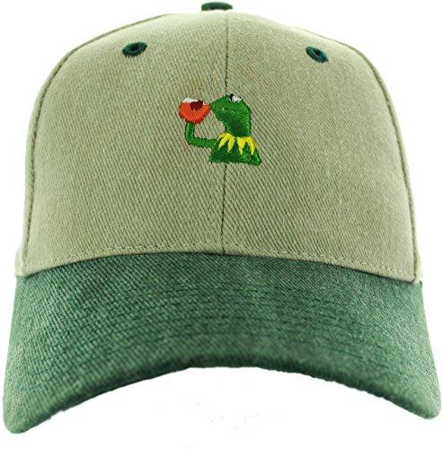 Kermit the frog hat Sipping Tea (Kermit Frog)