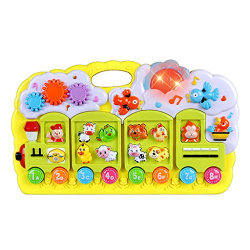 Clearance Sale!DEESEE(TM)Multi-Function Music Electronic Piano Infant Early Childhood Educational Toy
