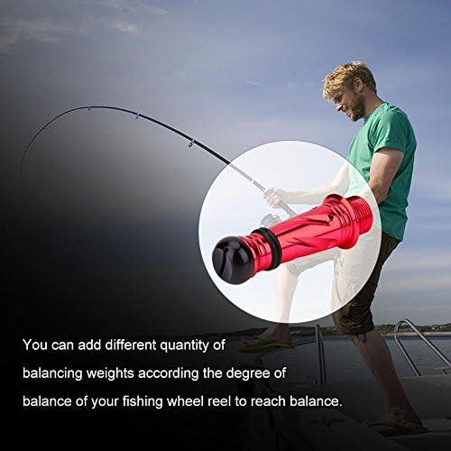 釣りリールバランサー 調整可能 衝突防止 アルミ合金 釣りリール ホイール バランサー バランスデバイス 釣りタックル アクセサリー