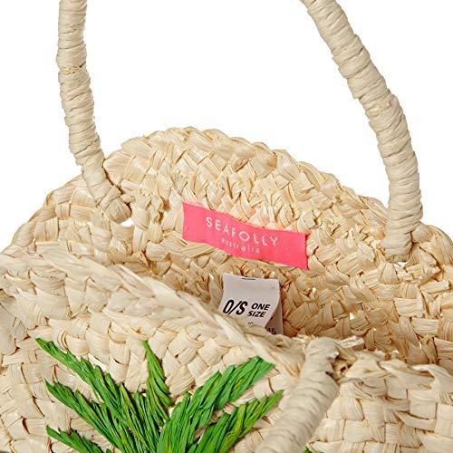 Seafolly Natural Away Tote Carried Bag Pineapple Girls Beach Mini rTwrx8