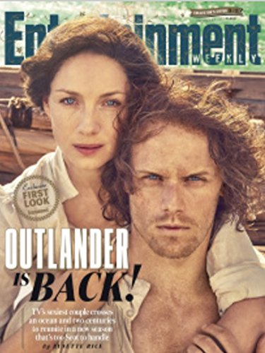Entertainment Weekly Magazine (September 1, 2017) Outlander: Sam Heughan and Caitriona Balfe Cover 3 of 3