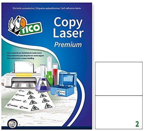 Bianco Tico LP4P-210148 Etichetta in Poliestere 210 x 148