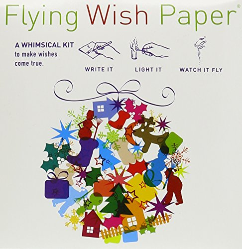 Flying Wish Paper Holiday Ball, Small (Paper Anniversary Meaning)