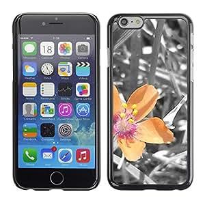 Paccase / SLIM PC / Aliminium Casa Carcasa Funda Case Cover - Plant Nature Forrest Flower 40 - Apple Iphone 6 Plus 5.5