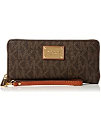 Womens Jet Set Travel Continental Wristlet