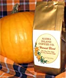 Kona Smooth Pumpkin Spice Hawaiian Coffee Gift Box, Harvest Blend, 8 Oz Ground, for Thanksgiving, Christmas, All Occasions
