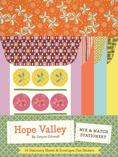 Denyse Schmidt Quilts - Hope Valley: Mix & Match Stationery
