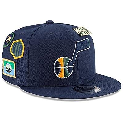 New Era Utah Jazz 2018 NBA Draft Cap 9FIFTY Snapback Adjustable Hat- Navy by New Era