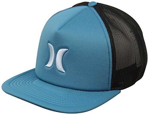 Hurley MHA0007180 Men's Blocked 3.0 Hat, Space Blue - OS (Hurley Embroidered Hat)
