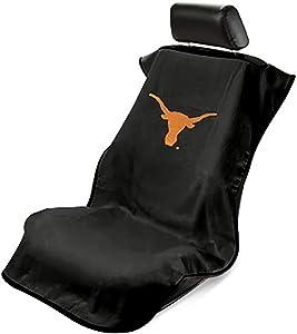 Seat Armour SA100LONGH Black 'Texas Longhorns' Seat Protector Towel