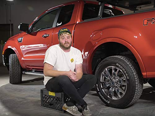 (The 2019 Ranger Is An Animated Truck)