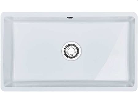 Franke Kubus KBK 110 - 70 Glacier Kitchen Sink Undermount Sink ...