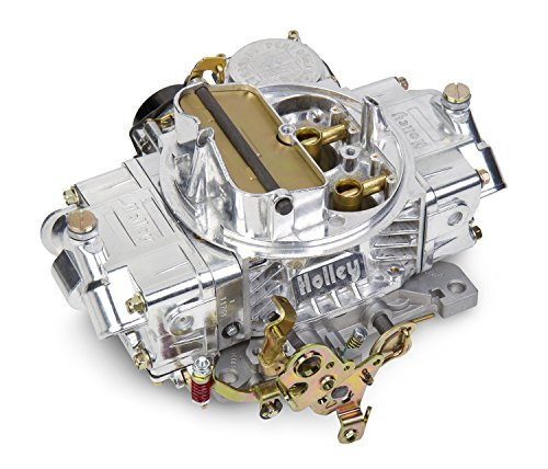 Holley 0-80458SA Polished Aluminum Universal Street/Strip Carburetor by Holley