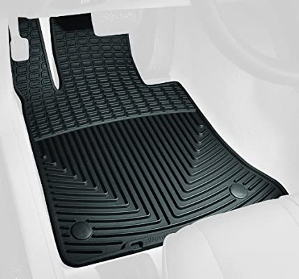 W99 WeatherTech All-Weather Rubber Floor Mat for Select Mercedes-Benz GLK350 Models Black