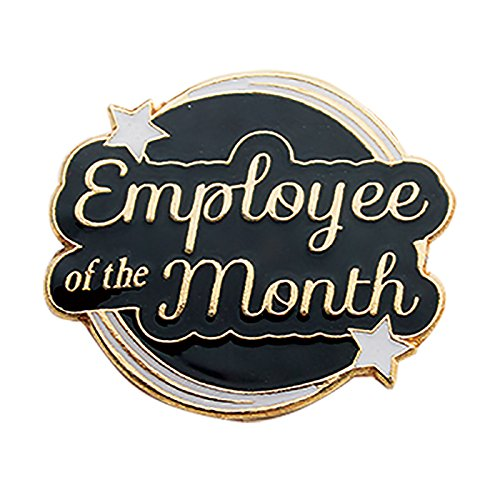 Set of 100 Lapel Pins - Employee of the Month by Jones School Supply Co., Inc.