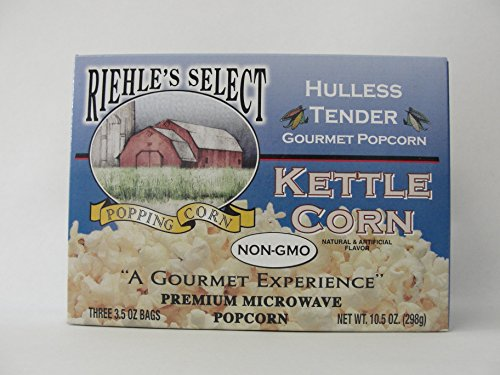 Riehles Select Popcorn Hulless Microwave product image