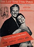 The Last Time I Saw Paris (MGM Pictures, Van Johnson & Elizabeth Taylor)
