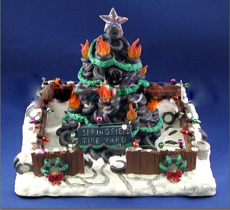 Simpsons Christmas Village.Amazon Com Collectibles Today The Simpsons Christmas