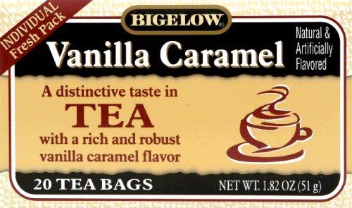 (Bigelow Vanilla Caramel Black Tea (20 Teabags) (Pack of 2))
