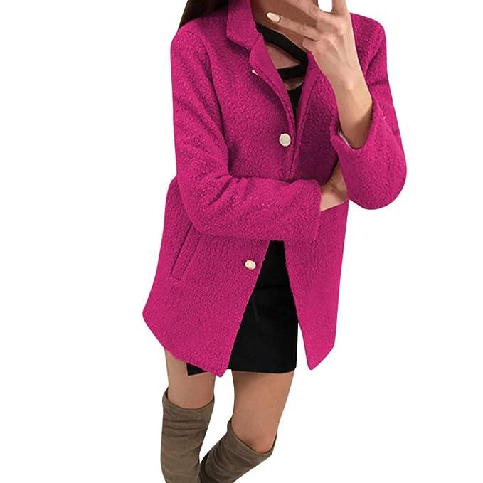 Abrigos Mujer Invierno Plumas ,Modaworld Traje De Mujer Chaqueta De Invierno Abrigo Cruzado para Mujer Abrigo De Lana Chaqueta Casual De Moda Abrigo Pecho ...