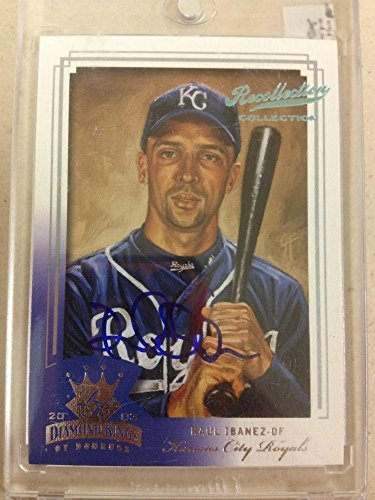 2003 Donruss Diamond Kings Crowning Moment Raul Ibanez Auto Autograph 1/1 Rare - Baseball Slabbed Autographed ()
