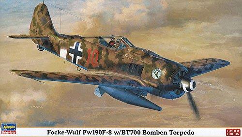 (Hasegawa 1/48 Focke-Wulf FW190F-8 with BT700 Bomben Torpedo (Limited Edition))