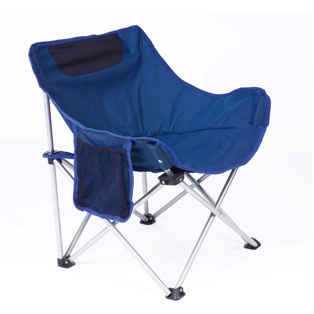Klappstuhl Camping Tragbare Licht Einfache Freizeit Angeln Park Hof Strand 2 Farbe 60  45  66 cm MUMUJIN (Farbe   Grün) Blau