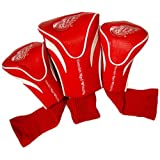 Team Golf NHL Detroit Red Wings 3 Pack Contour Headcovers