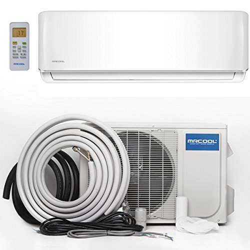 MrCool Comfort Made Simple A-18-HP-230A Advantage 18,000 BTU 1.5 Ton Ductless Mini-Split Air Conditioner and Heat Pump - 230V/60Hz ()