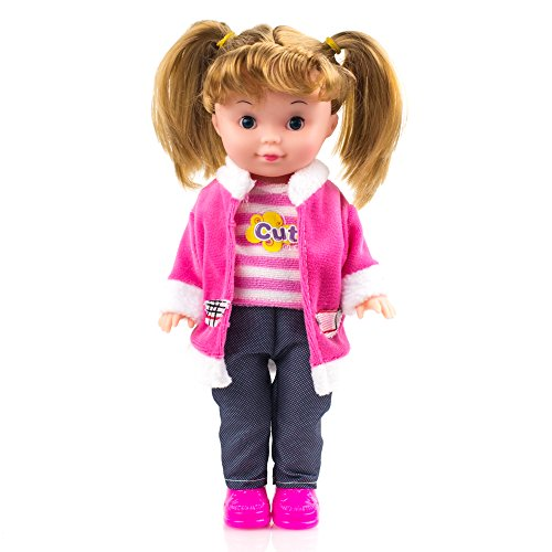 Fashion Doll trendy accessories with beautiful nylon hair easily portable best gift for your kids 51j2KtSzReL