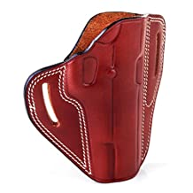 """The Casual"" - Kiro Holsters Brown Right Hand Two Slot Hand Hade Leather Holster for Bulgarian Makarov"