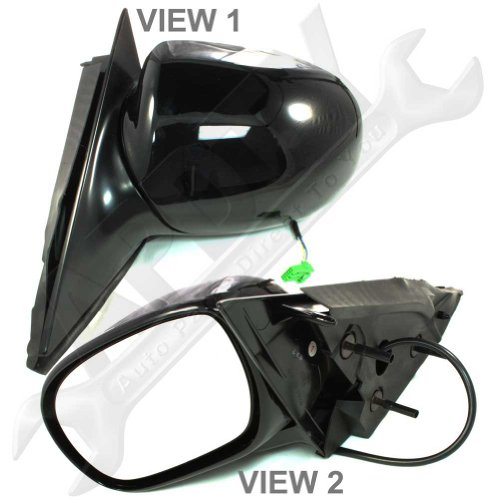 (APDTY 0662635 Power Side View Mirror Assembly Without Heat Fits Driver Side Left 1998-2005 Buick Park Avenue (Replaces 25739823))