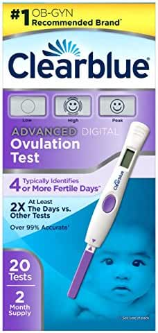 Clearblue Advanced Digital Ovulation Test, 20 Ovulation Tests