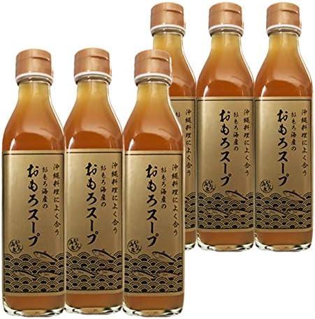 おもろ スープ瓶 (300ml×6本) 沖縄そば チャンプルーの素