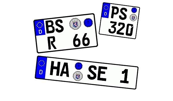 Motorart - Matrícula personalizada 1/18, 1/24, 1/43, 1/72, 1 ...