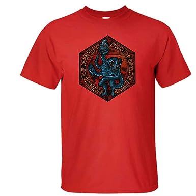 Qiujiam Camiseta de Demogorgon Disfraz de Programa de televisión ...