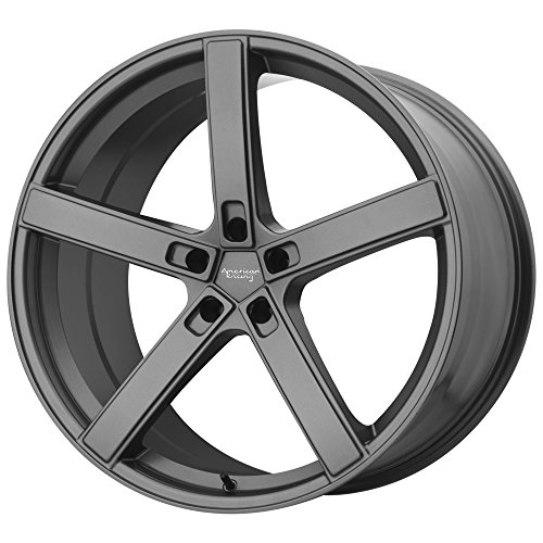 AMERICAN RACING AR920 BLOCKHEAD Wheel with CHARCOAL and Chromium (hexavalent compounds) (19 x 10. inches /5 x 72 mm, 45 mm Offset) ()